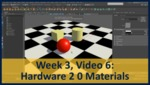 Week 03, Video 06: Hardware 2.0 Materials