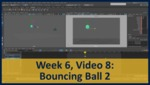 Week 06, Video 08: Bouncing Ball 2 by Gregory Marlow