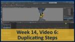 Week 14, Video 06: Duplicating Steps