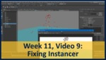 Week 11, Video 09: Fixing Instancer by Gregory Marlow