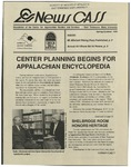 News CASS: Newsletter of the Center for Appalachian Studies and Services (spring/summer, 1995)