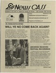 News CASS: Newsletter of the Center for Appalachian Studies and Services (summer/fall, 1995)