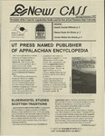 News CASS: Newsletter of the Center for Appalachian Studies and Services (spring/summer, 1997) by East Tennessee State University. Center for Appalachian Studies and Services.