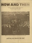 Now and Then, Vol. 02, Issue 03, 1985 by East Tennessee State University