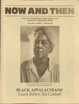 Now and Then, Vol. 03, Issue 01, 1986 by East Tennessee State University