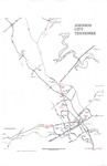 Johnson City, Tennessee Information Map (Undated) by First Tennessee-Virginia Development District