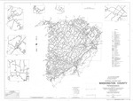 General Highway Map - Washington County, Tennessee - 1991 by Tennessee Department of Transportation