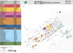 East Tennessee State University Campus Map - 2013 by Johnson City GIS Division